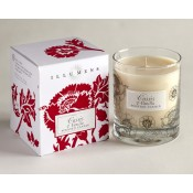 Cassis and Vanilla Scented Candle in Glass