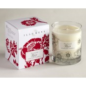 Floribunda Rose Scented Candle in Glass