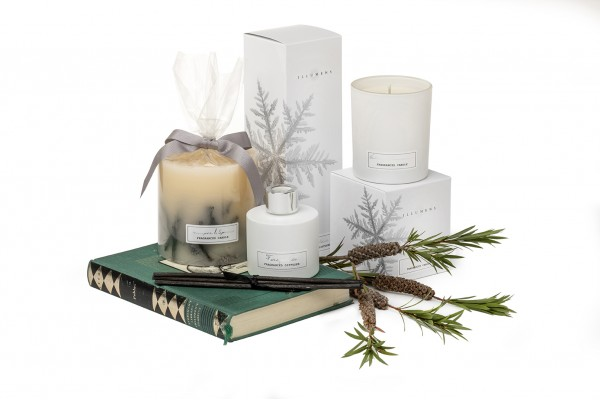 Winter Collection Scented Candles and Aromatic Diffusers