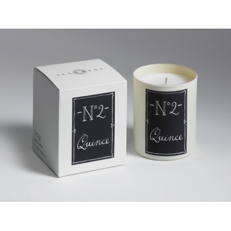No. 2 Quince Scented Candle in Glass