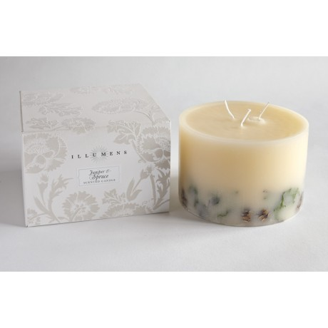 Juniper and Spruce Large Boxed Botanical Candle