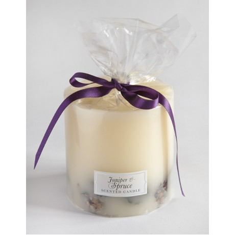Juniper and Spruce Botanical Candle