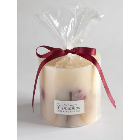 Nutmeg and Cinnamon Botanical Candle